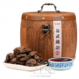 Діжечка Шу Пуеру Лао Ча Тоу «Старі чайні голови»