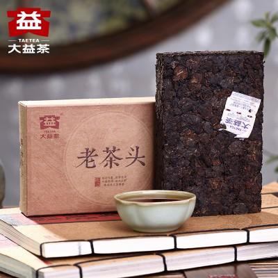 Шу Пуер ⭐ Лао Ча Тоу (Старі чайні голови) 2016 р, фабрика Менхай Да І, рецепт 1601, 280 гр