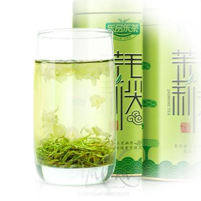 Молі Хуа Люй Ча («Зелений чай з пелюстками жасмину»), в подарунковому пакованні, 125 гр