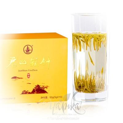 Жовтий чай ⭐ Цзюнь Шань Інь Чжень (упаковка), 50 гр
