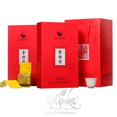 Темний улун ★ Цзінь Мудань («Золота Півонія»), 250 гр (32х8 гр)