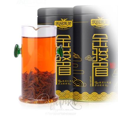 Червоний чай Цзинь Цзюнь Мей («Золоті брови») в подарунковому пакованні, 125 гр