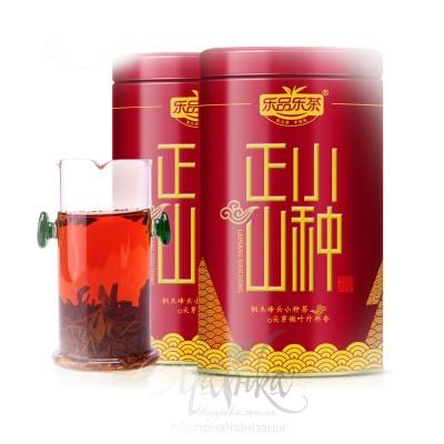 Червоний чай ⚡ Лапсанг Сушонг / Чжень Шань Сяо Чжун («Малі Кущі з Гори Чжень (УІ)»),  в подарунковому пакованні 125 гр