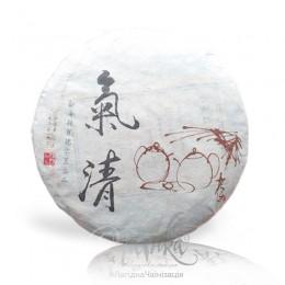Колекційний Шу Пуер «Король Ци»  (Limited Edition) / 2010 р / млинець 357 грамів