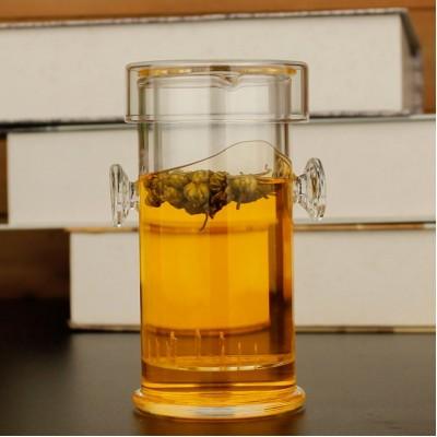 Колба для заварювання чаю скляна, 200 мл