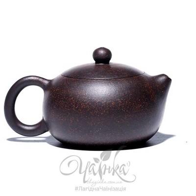 Ісінський чайник ⚡ заварювальний глиняний, форма Сі Ши, 170 мл