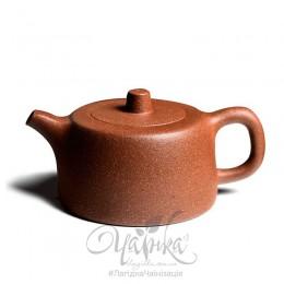 Чайник заварювальний ісінський глиняний, форма Цзін Лань, 180 мл