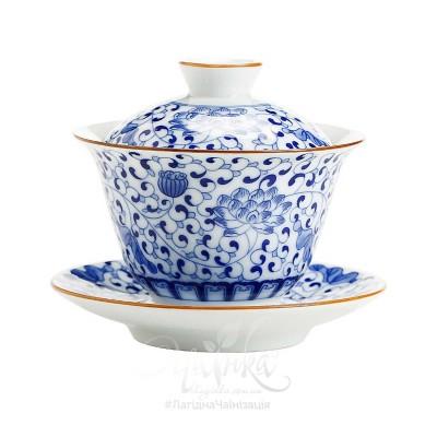 Ґайвань порцелянова ★ «Блакитний Лотос»