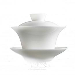 «Яшма», ґайвань біла порцелянова (120 мл)