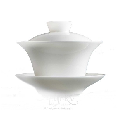 Ґайвань порцелянова «Біла Яшма», 120 мл