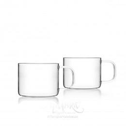Чашки скляні (2 шт)