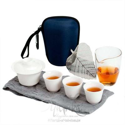 Чайний набір для мандрівок і прогулянок (8 предметів)