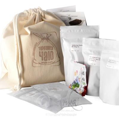 Набір ⚡ Чай на подарунок «ТОРБИНКА ЧАЮ №6»